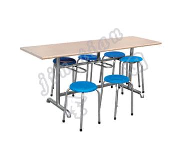 分立式不锈钢快餐桌椅 餐桌椅 产品中心 重庆厨具 重庆厨